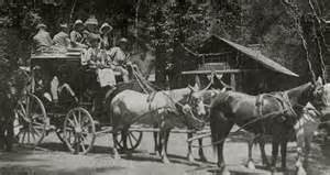 A Stagecoach similar to the type driven on Parkhurst's route